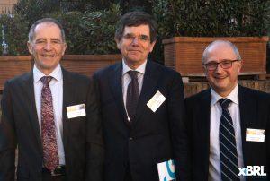 Da sinistra Gilles Maguet, Marco Conte, Eugenio Virguti